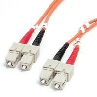 20 Meter SC / SC Fiber Optic Cable Duplex 50/125 - Orange