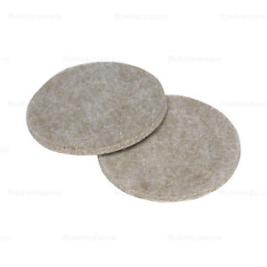 """208 Pack Heavy Duty 1"""" Round Felt Pads Sliders for Legs Chair Sofa Furniture"""