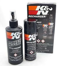 K&N Filter Reinigungsset Reiniger & Öl für Sportluftfilter Set