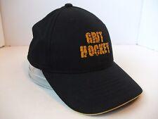 Grit Hockey Hat Black Hook Loop Baseball Cap
