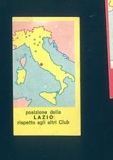 Figurina Calciatori Mira 1963-64! Cartina Lazio! Nuova!!