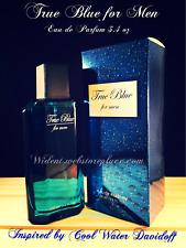 True Blue for Men Sandora Eau de Parfum 3.4 oz (Inspired by Cool Water Davidoff)