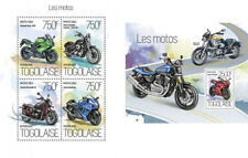 Motorcycles Motorräder Ducati Harley Davidson Transport Togo MNH stamp set