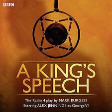 A KING'S SPEECH - KING GEORGE VI - BBC RADIO 4 - CD AUDIO BOOK - NEW/SEALED