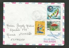 New Caledonia Airmail Cover