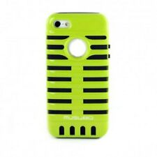 "Duo Hard-CASE ""Elvis"" pour iPhone 4 4g 4s rétro Cover Housse de protection anti-chocs vert"