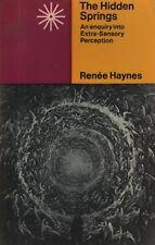 "RENEE HAYNES - ""THE HIDDEN SPRINGS"" - EXTRA-SENSORY PERCEPTION - RADIUS HB(1973)"