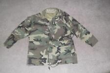 Military Medium Regular Parka Cold Weather Field Jacket BDU Woodland Unisex #88