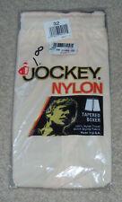 NOS Vintage 1986 JOCKEY NYLON TRICOT Tapered Boxer Shorts Size 32 Mens Underwear