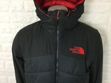 The north face padded panel coat jacket grey/red M L XL XXL RRP £300 REDUCED