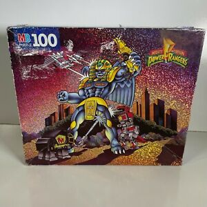 Mighty Morphin Power Rangers 1993 King Sphinx Puzzle 100 Piece Vintage COMPLETE