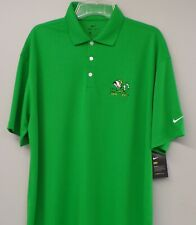 Nike Golf Notre Dame Irish Mascot NCAA Mens Embroidered Polo XS-4X, LT-4XLT New