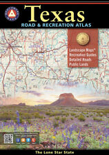 National Geographic Benchmark Maps Texas TX Road & Recreation Atlas & Guide