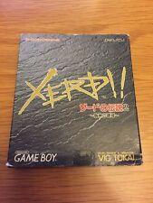 GAMEBOY XERD NO DENSETSU 2 JAPANESE COMPLETE RARE