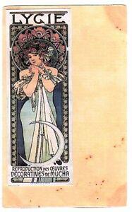 cartes   ILLUSTRATION  LYGIE  par Mucha