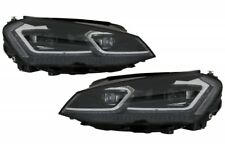 LED Headlights For VW Golf 7 VII 12-17 Facelift G7.5 Sequential Dynamic