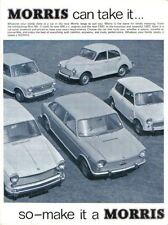 Morris Range Mini Minor 1000 1100 1300 Oxford 1800 1967-68 UK Brochure No 2442/A