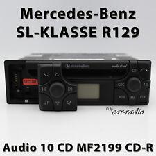 ORIGINALE Mercedes Audio 10 CD mf2199 CD-R r129 RADIO SL-classe w129 Autoradio