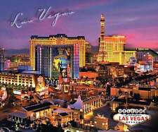 Las Vegas Strip, The Producers Ad at Bally's, Hotel Casinos, Paris etc. Postcard
