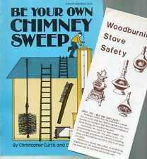 Chimney Sweep Be Your Own 1979 Chimney Stove Fireplace Christopher & Donald Post
