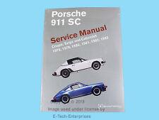 In-Depth  Repair Service Manual Book for Porsche 911 SC Coupe Targa Cabriolet
