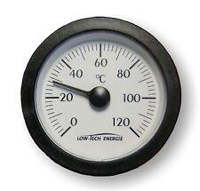 Fernthermometer 0-120 °C, 1,5m Kapilarrohr, analog universal Rund Ø 57,8 mm