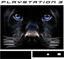 PlayStation 3 PS3 BLACK PANTHER Vinyl Sticker Skin
