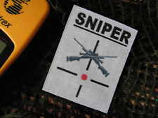 SNAKE PATCH- écusson - SNIPER M24 - ghillie cible AIRSOFT laser