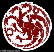Game of Thrones sticker decal House Targaryen Warn Dragon car window laptop BEST