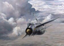"English Electric Lightning Aviation Painting Art Print - 11 Squadron - 14"" Print"