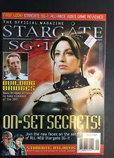 Stargate Sg-1 Atlantis Official Magazine September/October 2005 Volume #06 Rare