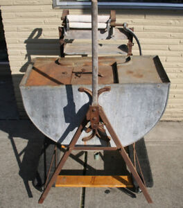 Antique Ringer Washer - Metal Stand With Original Rollers