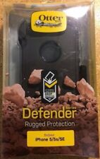 Genuine Otterbox Defender Series case for iPhone 5S Black New in Retail Box
