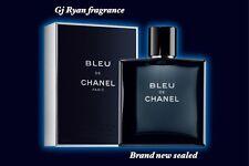 Bleu De Chanel Eau de Toilette Pour Homme 3.4 oz.100ml Cologne Fragrance Sealed!