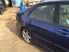 99-05 LEXUS IS200 IS300 COMPLETE DOOR DRIVER SIDE REAR OSR  BLUE 8N8 GOOD COND
