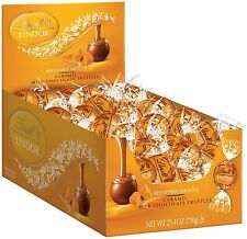 Lindt LINDOR Caramel Milk Chocolate Truffles 60 Count Box