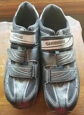 Shimano M077 2 Cleat Cycling Shoes. Size 47/Us 11.8. Great Condition. Black.