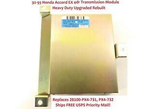 TCM Transmission Control Module 1992 1993 Honda Accord 2.2L AT28100-PX4-721
