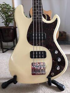 Rare Gibson EB Bass Guitar + Original Hard Shell Case.