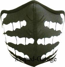 Biker Maske Skull - Hands Motorrad Maske Streetfighter Custom Moped Neu
