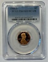 1984-S Lincoln Cent PR69RD DCAM PCGS Proof 69 Red Deep Cameo