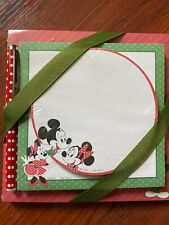 Disney Hallmark Memo Pads Set with Pen. NEW IN PACKAGE