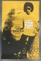 Gerald Laing 1964 ICA Gallery 2 Colour screen prints poster YELLOW
