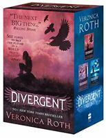 Divergent Series Boxed Set (books 1-3) by Roth, Veronica Book The Fast Free