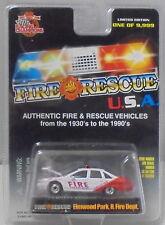 KKar Racing Champions - 1999 Fire USA #07 - '92 Caprice - Elmwood Park, IL Fire