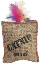 Ethical JUTE & FEATHER Catnip Filled Sack Cat Toy