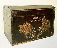 Antique Chinese Hand-painted Box (3363), Circa mid of 19th century