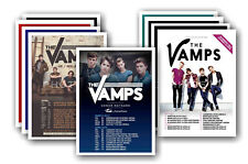 THE VAMPS - 10 promotional posters  collectable postcard set # 1