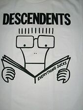 FREE SAME DAY SHIPPING OLD SCHOOL PUNK DESCENDENTS EVERYTHING SUCKS SHIRT SMALL