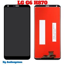 DISPLAY LCD+ TOUCH SCREEN+VETRO PER LG G6 H870 OPTIMUS DIGITIZER SCHERMO NUOVO